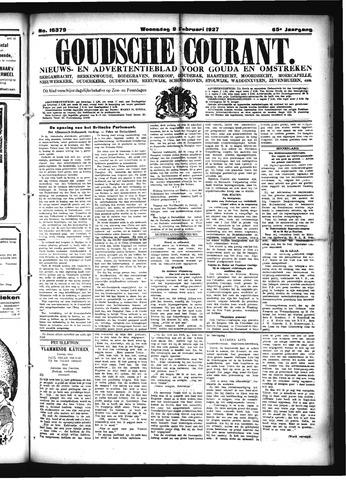 Goudsche Courant 1927-02-09