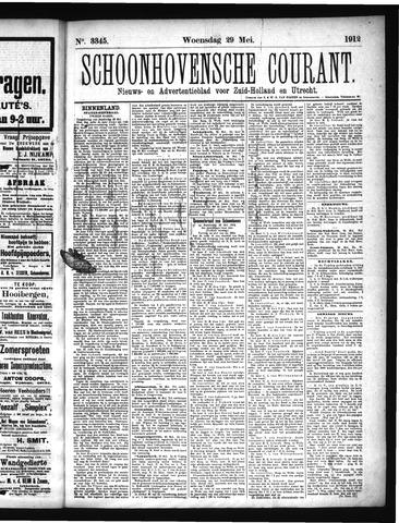 Schoonhovensche Courant 1912-05-29