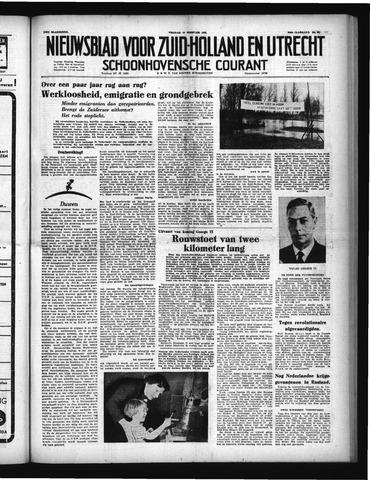 Schoonhovensche Courant 1952-02-15