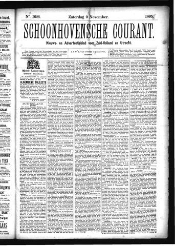 Schoonhovensche Courant 1895-11-09