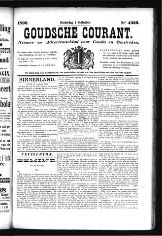 Goudsche Courant 1892-09-01