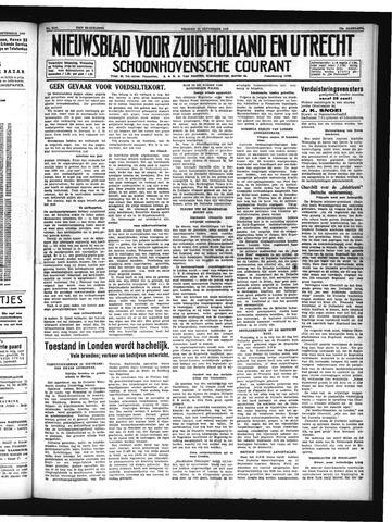 Schoonhovensche Courant 1940-09-13