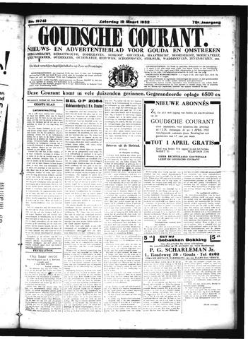 Goudsche Courant 1932-03-19