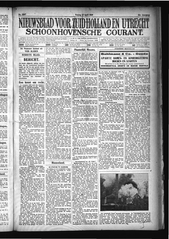 Schoonhovensche Courant 1929-04-12