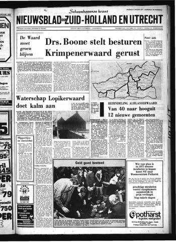 Schoonhovensche Courant 1977-01-21
