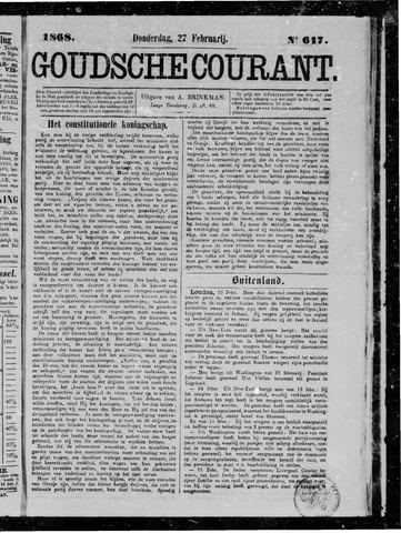 Goudsche Courant 1868-02-27