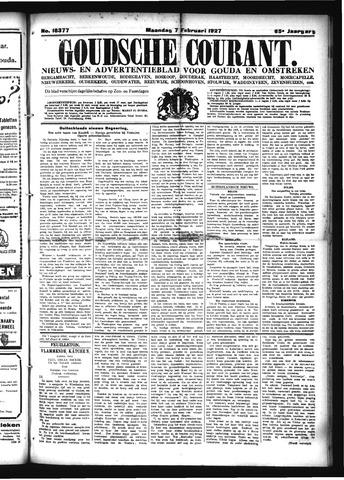Goudsche Courant 1927-02-07