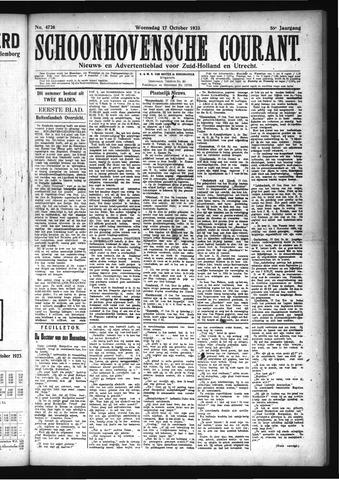 Schoonhovensche Courant 1923-10-17