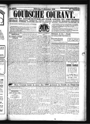 Goudsche Courant 1928-11-17
