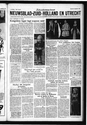 Schoonhovensche Courant 1960-09-12
