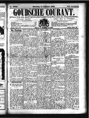 Goudsche Courant 1916-02-14