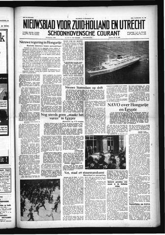 Schoonhovensche Courant 1956-12-17