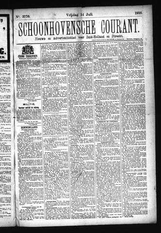 Schoonhovensche Courant 1916-07-14