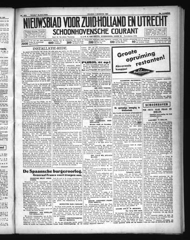 Schoonhovensche Courant 1936-08-07