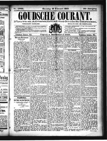 Goudsche Courant 1917-02-19