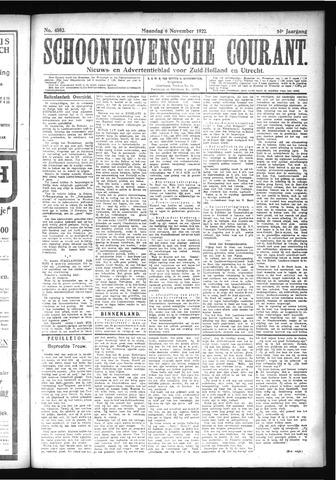Schoonhovensche Courant 1922-11-06