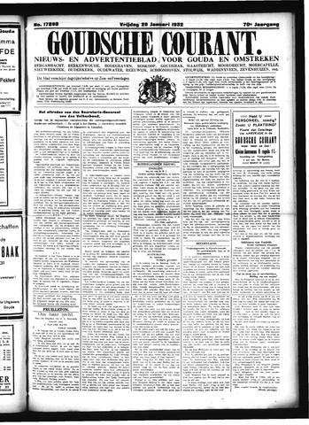 Goudsche Courant 1932-01-29