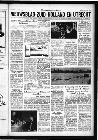 Schoonhovensche Courant 1960-10-24