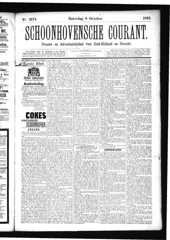 Schoonhovensche Courant 1910-10-08