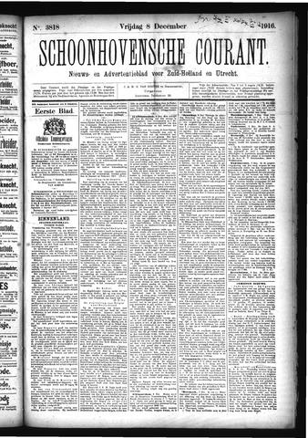 Schoonhovensche Courant 1916-12-08