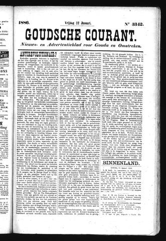 Goudsche Courant 1886-01-22