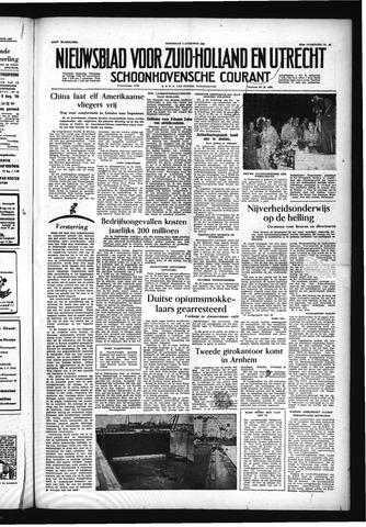 Schoonhovensche Courant 1955-08-03