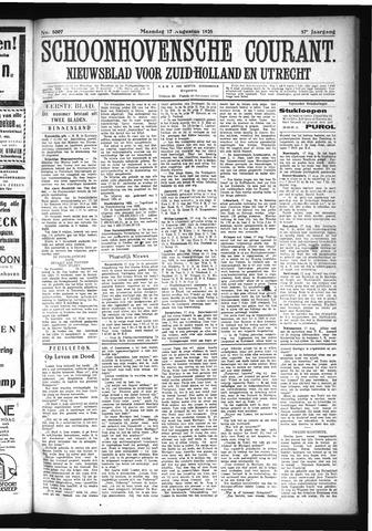 Schoonhovensche Courant 1925-08-17