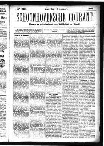 Schoonhovensche Courant 1904-01-16