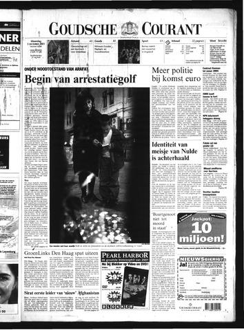 Goudsche Courant 2001-12-03