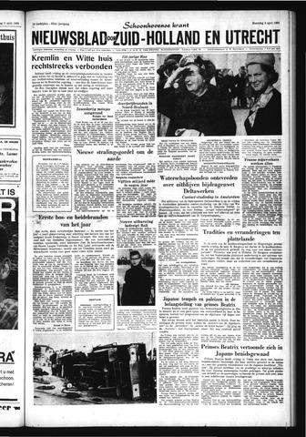Schoonhovensche Courant 1963-04-08