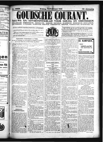 Goudsche Courant 1935-02-22