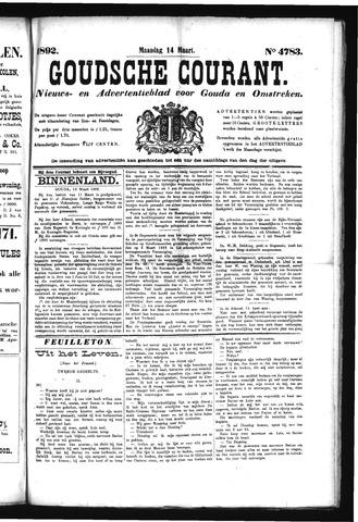 Goudsche Courant 1892-03-14