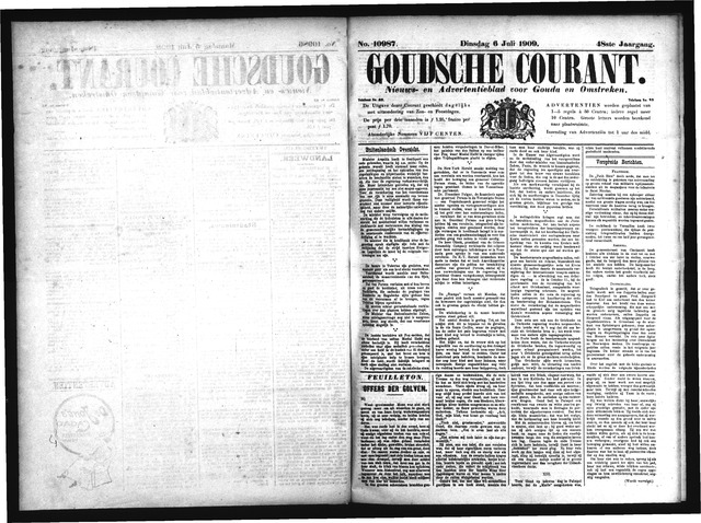 Goudsche Courant 1909-07-06