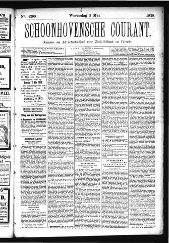 Schoonhovensche Courant 1920-05-05
