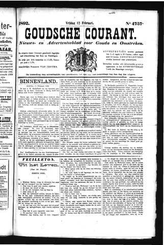 Goudsche Courant 1892-02-12