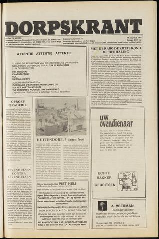 Dorpskrant 1981-08-14