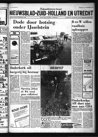 Schoonhovensche Courant 1974-10-18