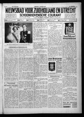 Schoonhovensche Courant 1937-08-11