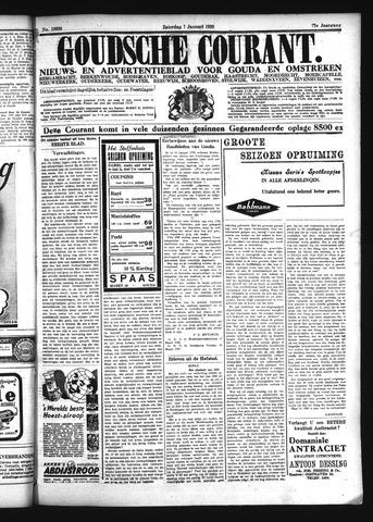 Goudsche Courant 1939-01-07