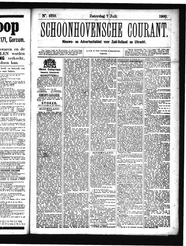 Schoonhovensche Courant 1900-07-07