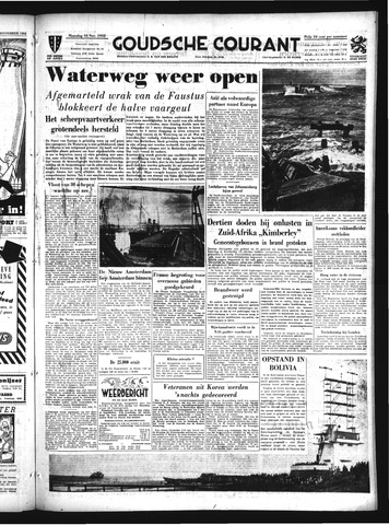 Goudsche Courant 1952-11-10