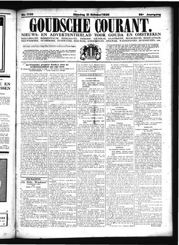 Goudsche Courant 1930-10-21