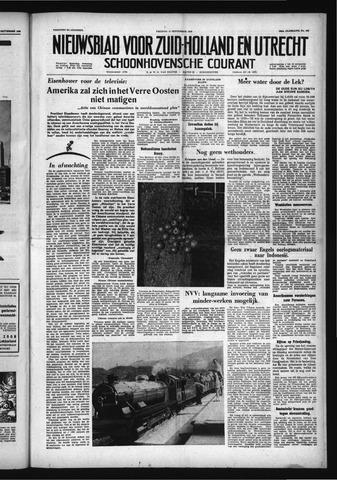 Schoonhovensche Courant 1958-09-12