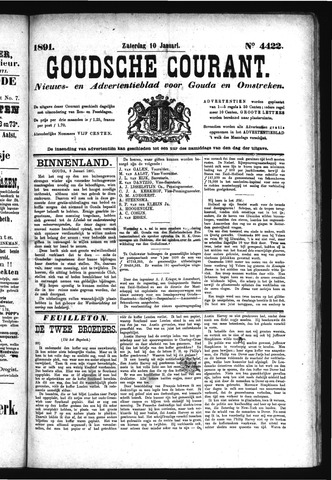 Goudsche Courant 1891-01-10