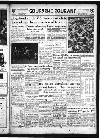 Goudsche Courant 1958-08-23