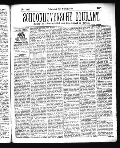Schoonhovensche Courant 1907-11-23
