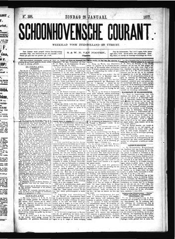 Schoonhovensche Courant 1877-01-28