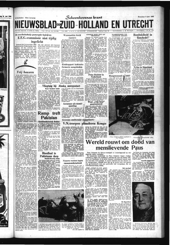 Schoonhovensche Courant 1963-06-05