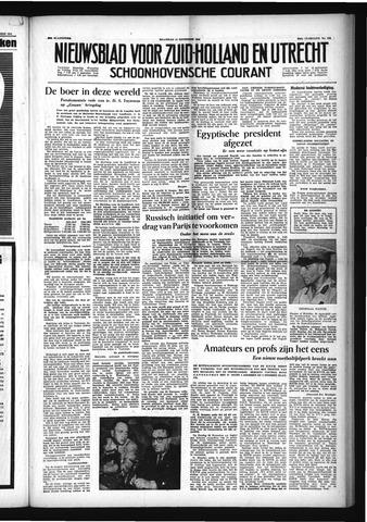 Schoonhovensche Courant 1954-11-15