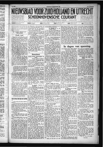 Schoonhovensche Courant 1931-09-30